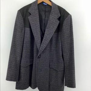 Pendleton   Western Style Wool Blazer